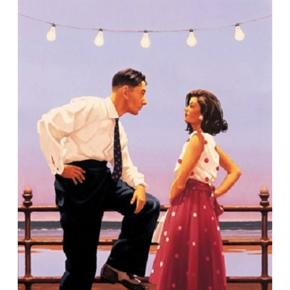 The Big Tease Limited Edition Print Jack Vettriano