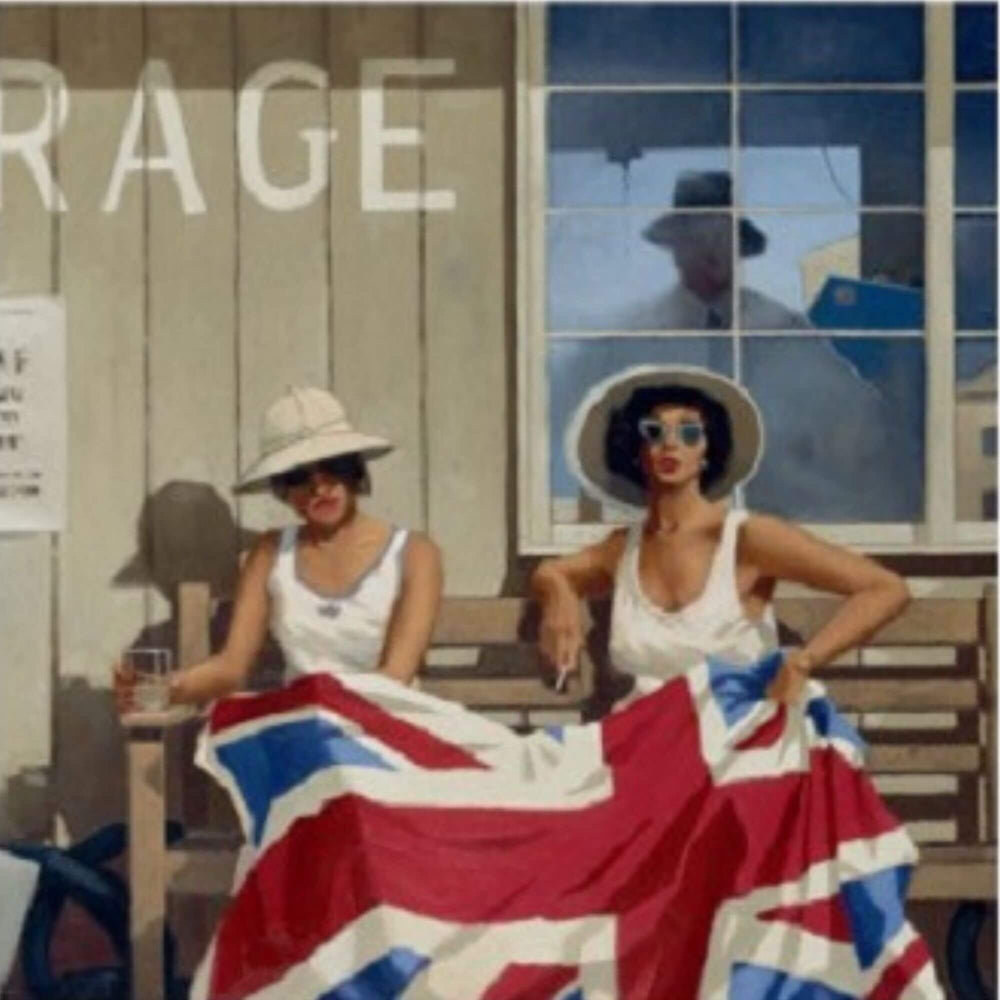 The British Are Coming Jack Vettriano Bluebird Collection