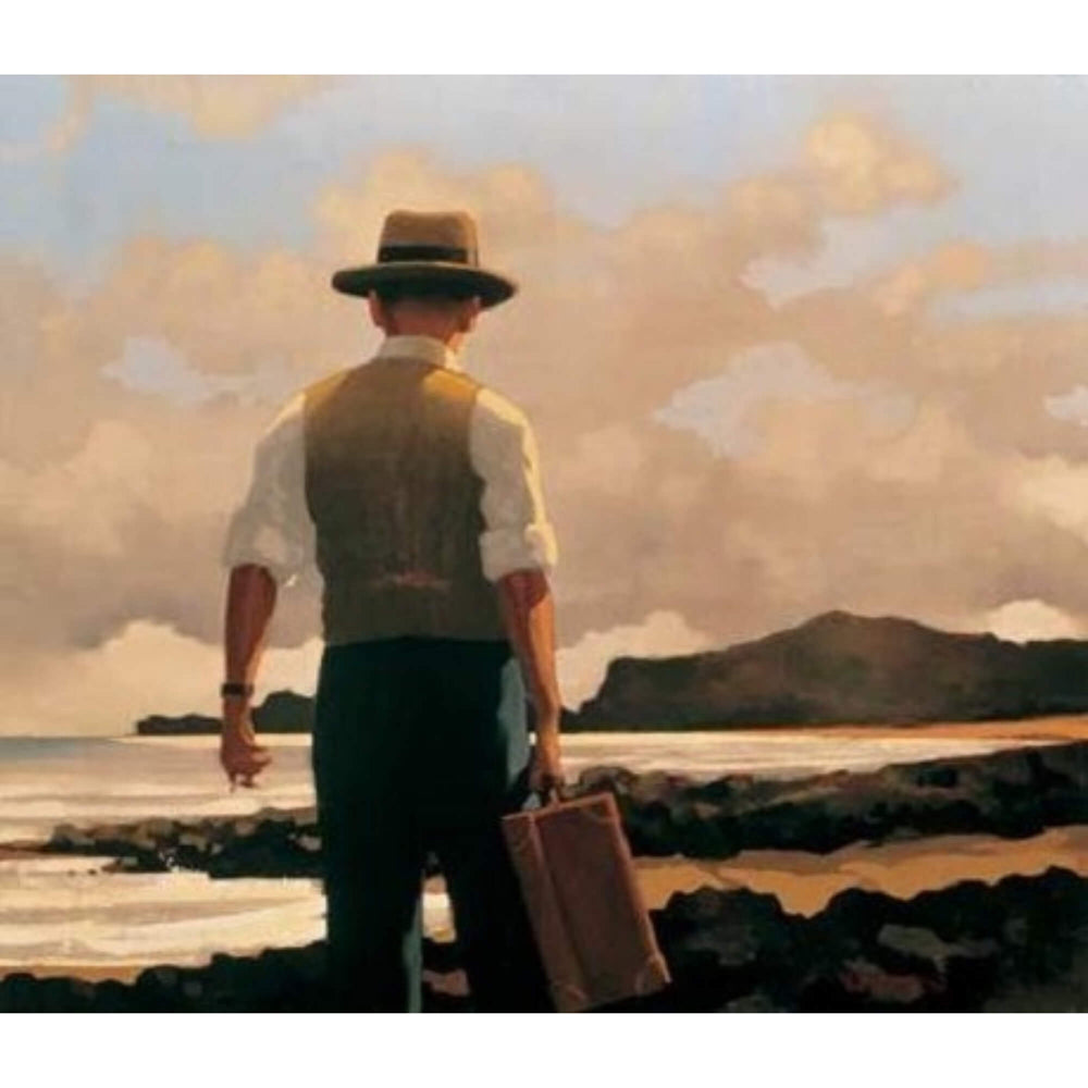 The Drifter Limited Edition Print Jack Vettriano