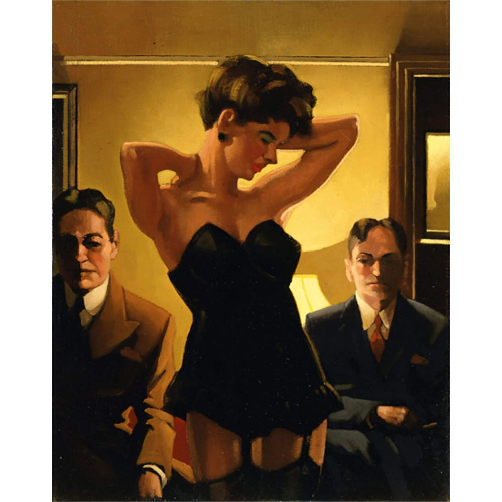 The First Audition Jack Vettriano