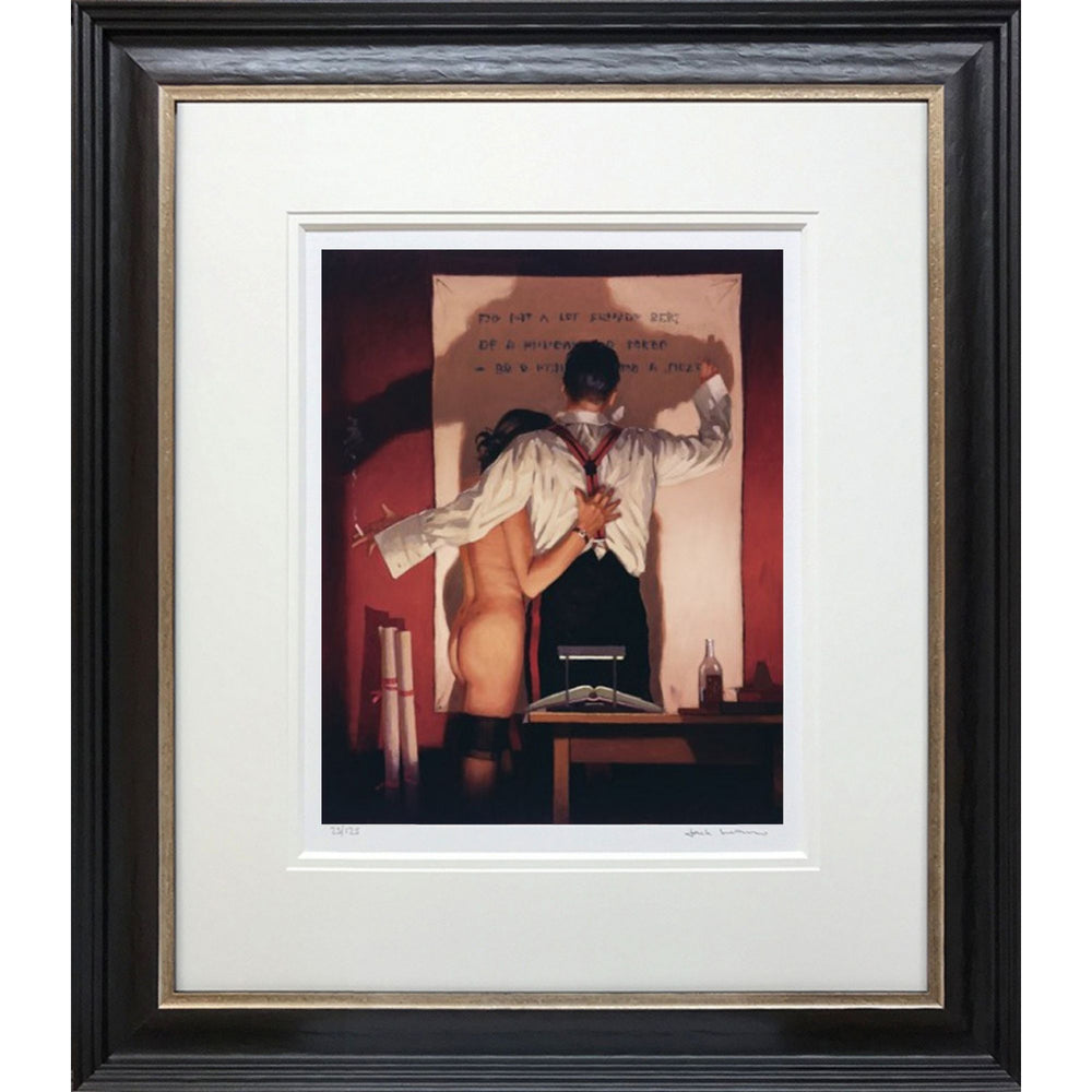 The Great Poet Limited Edition Print Jack Vettriano Framed