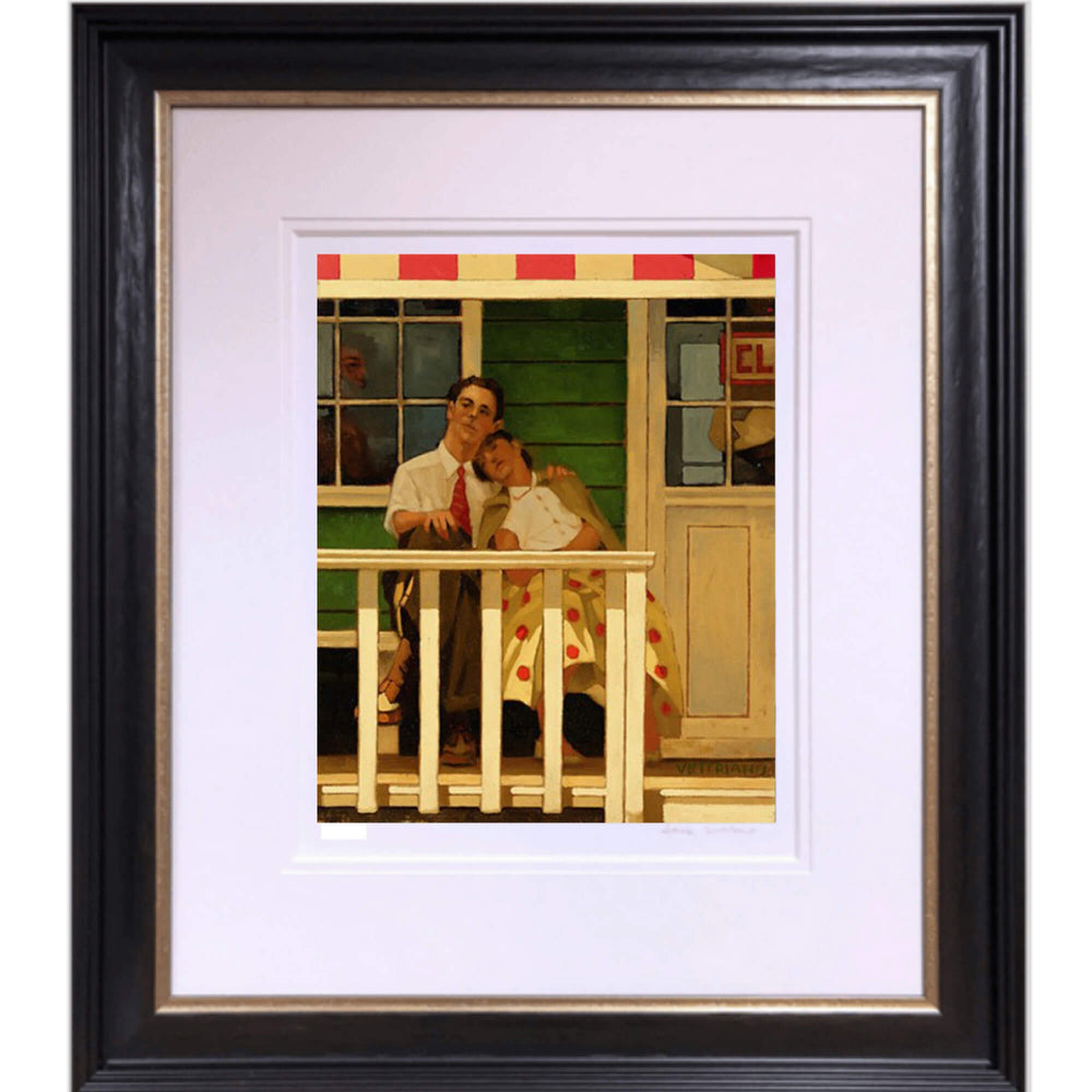 The Innocents Limited Edition Print Jack Vettriano Framed