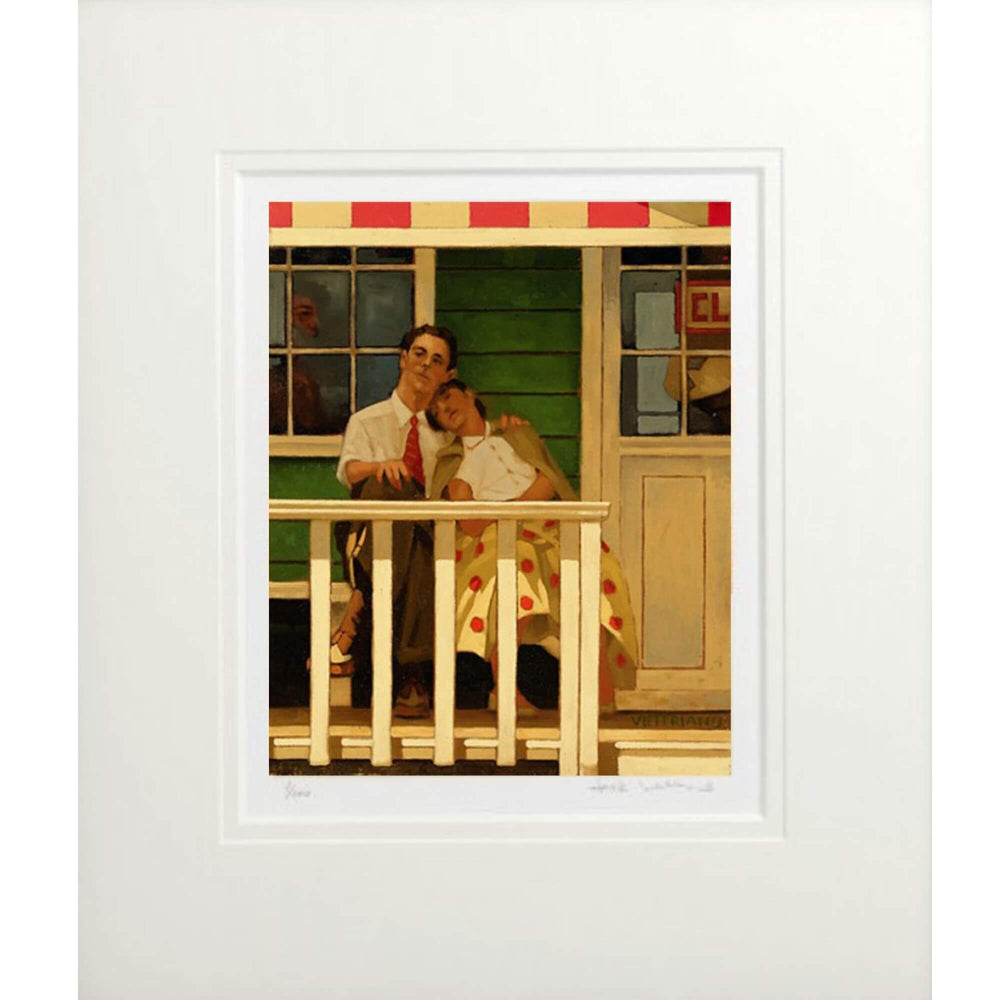 The Innocents Limited Edition Print by Jack Vettriano mounted