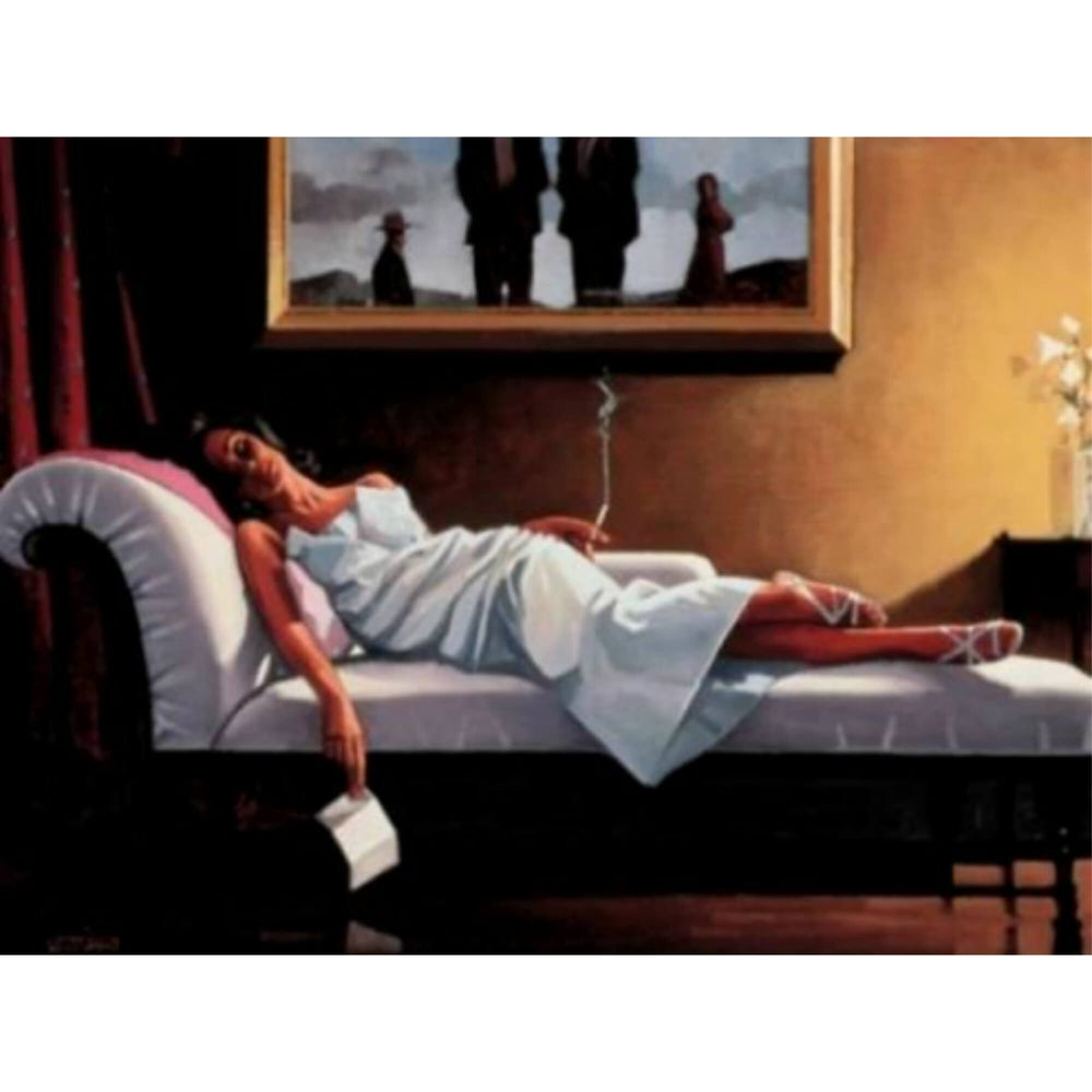The Letter Limited Edition Print Jack Vettriano