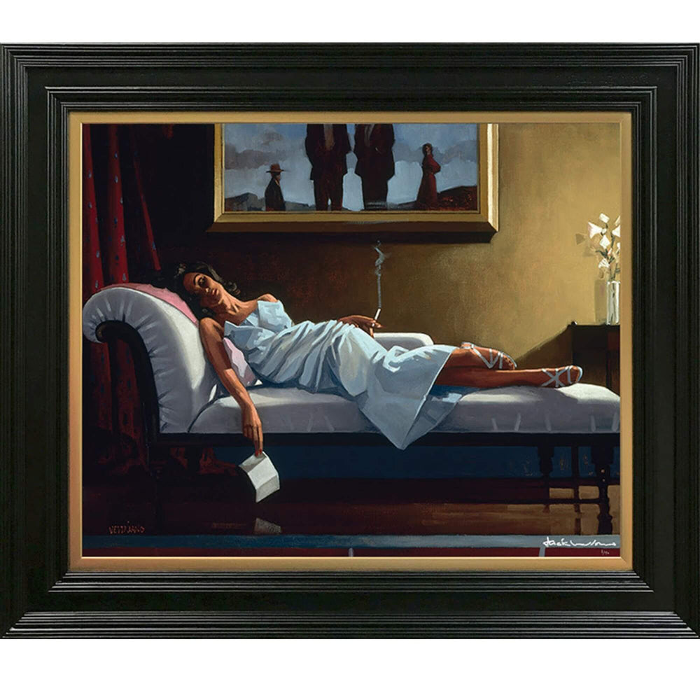 The Letter Jack Vettriano Premium Limited Edition