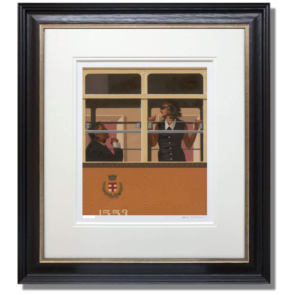 Jack Vettriano The Look of Love Framed