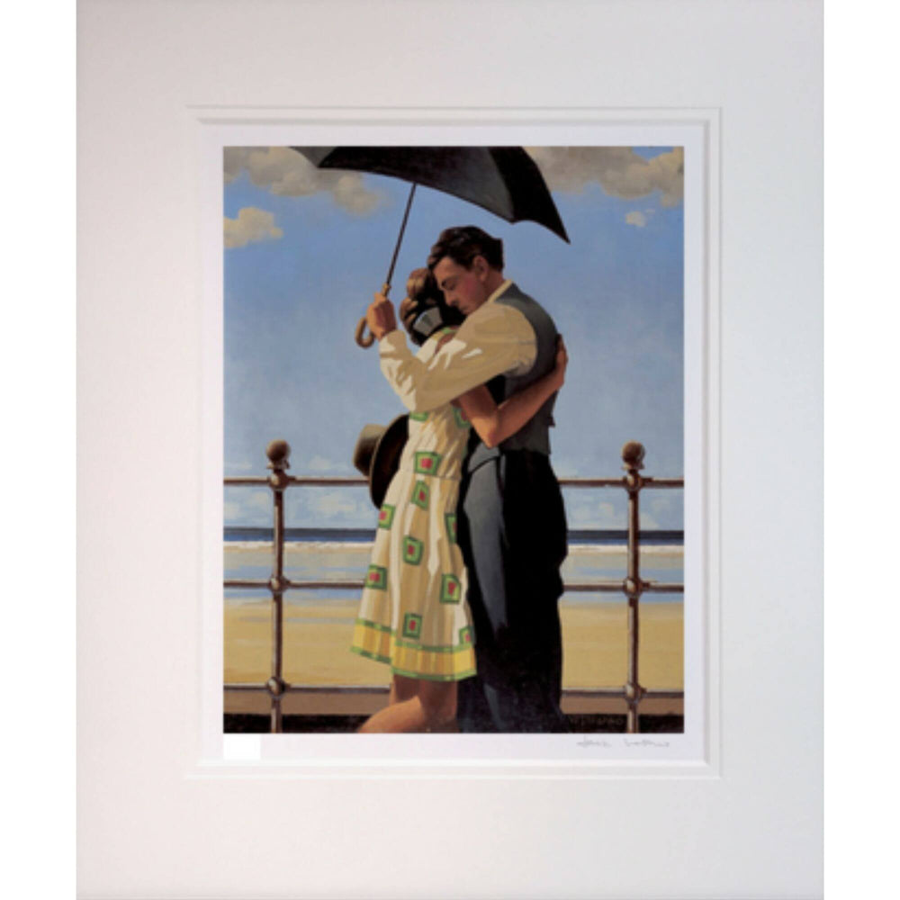 Jack Vettriano The Proposal Mounted