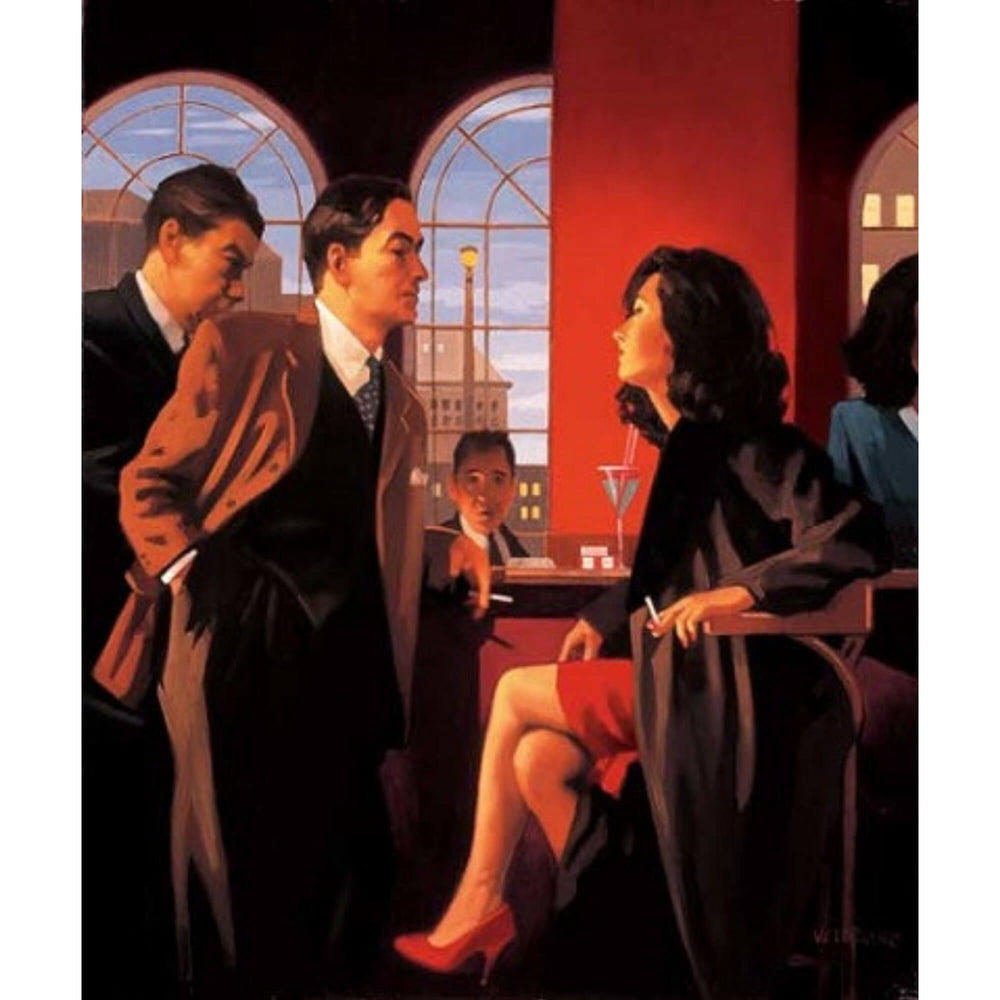 The Red Room Signed Print Jack Vettriano