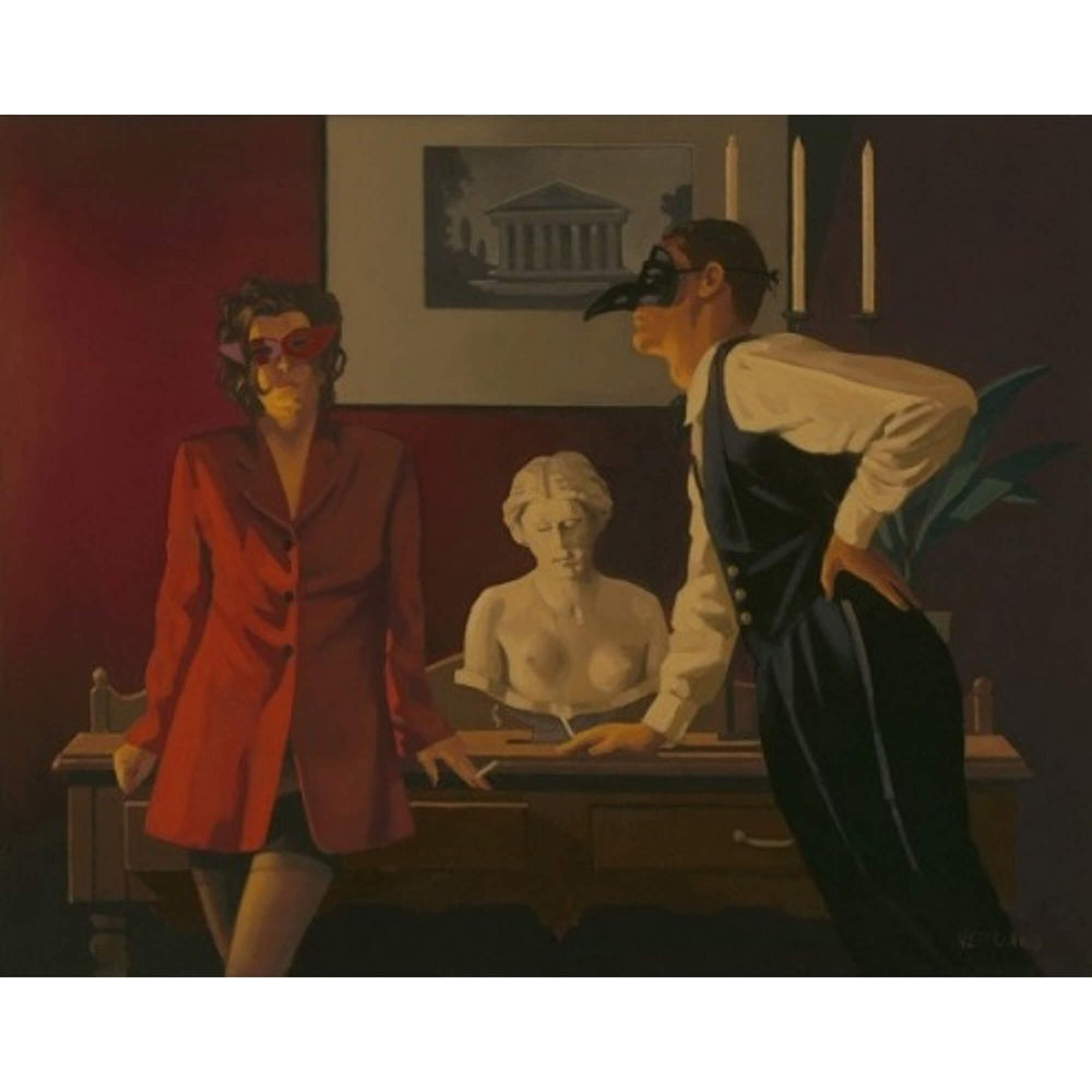 The Sparrow and The Hawk Artist's Proof Jack Vettriano