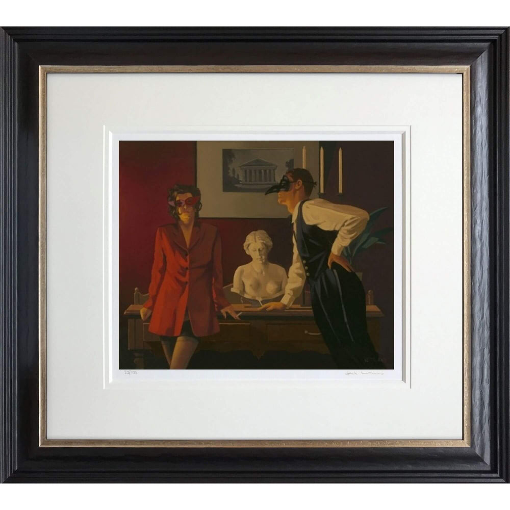 The Sparrow and The Hawk by Jack Vettriano Framed Limited Edition