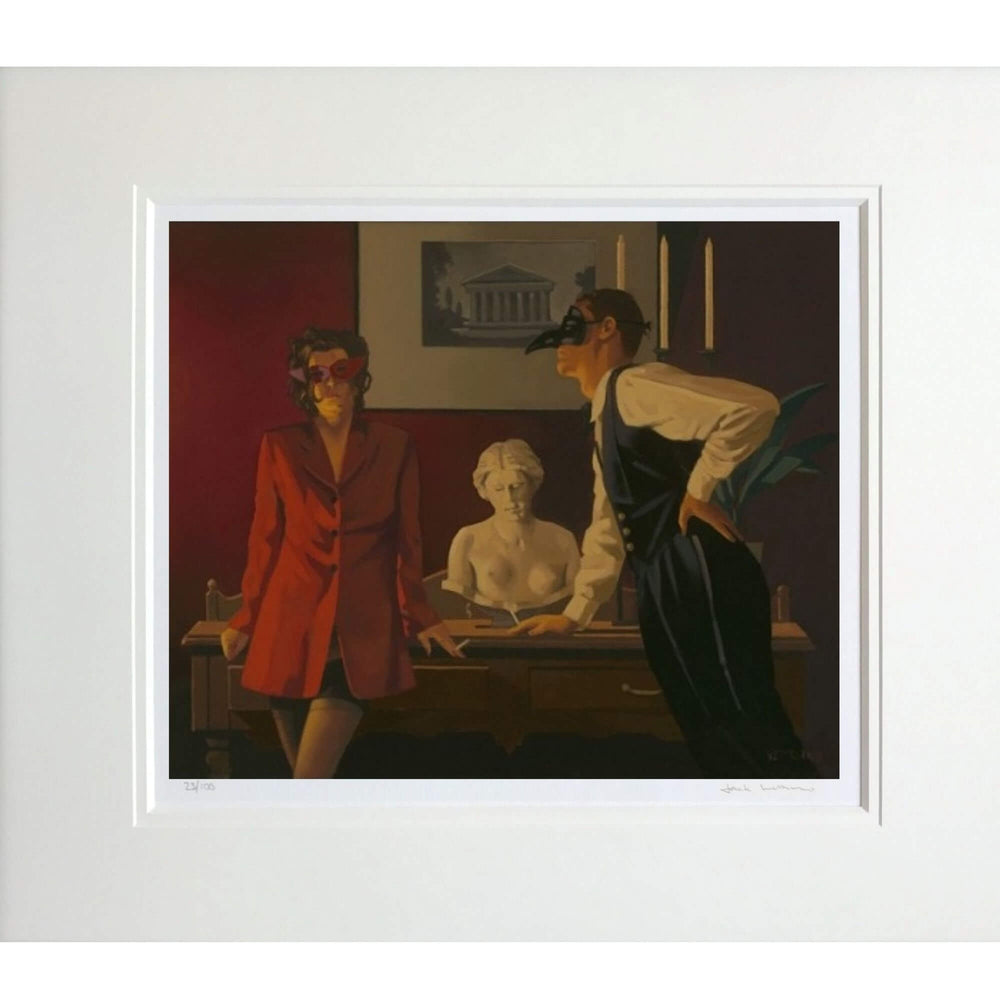 The Sparrow and The Hawk Jack Vettriano Mounted Limited Edition