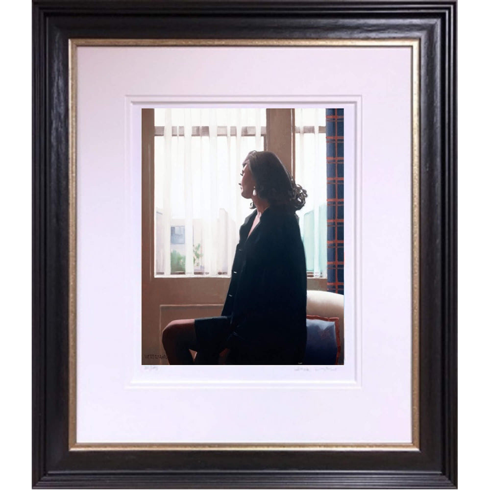The Very Thought of You The Contemplation Series Jack Vettriano Framed