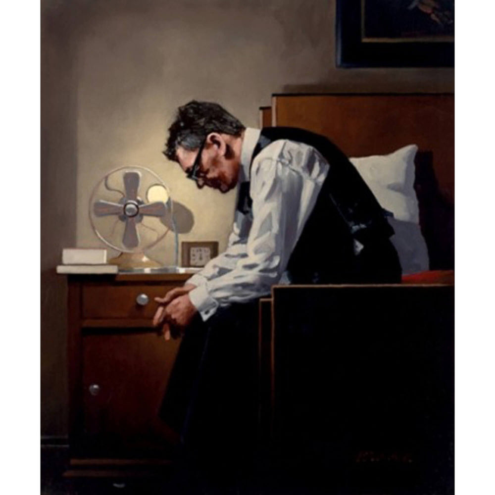The Weight Artist's Proof Print Jack Vettriano