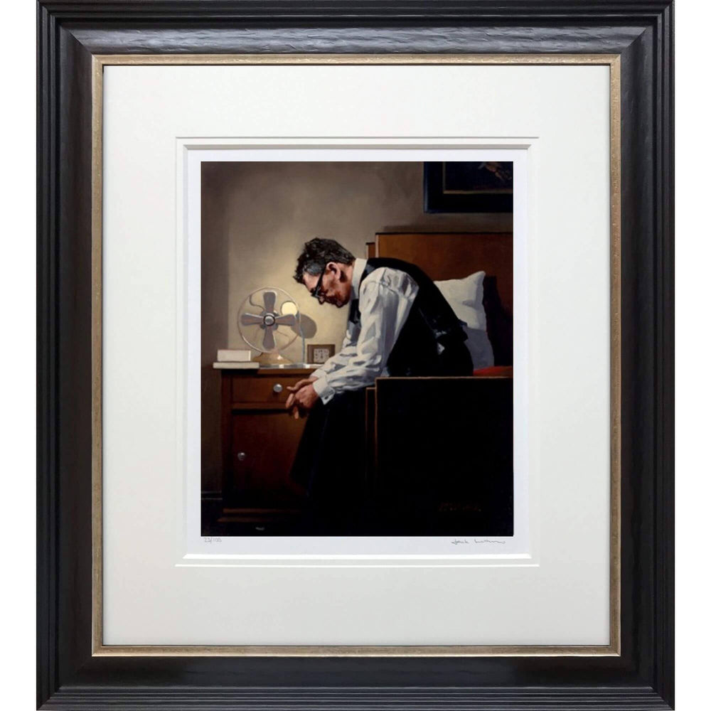 The Weight Artist's Proof Print Jack Vettriano Framed