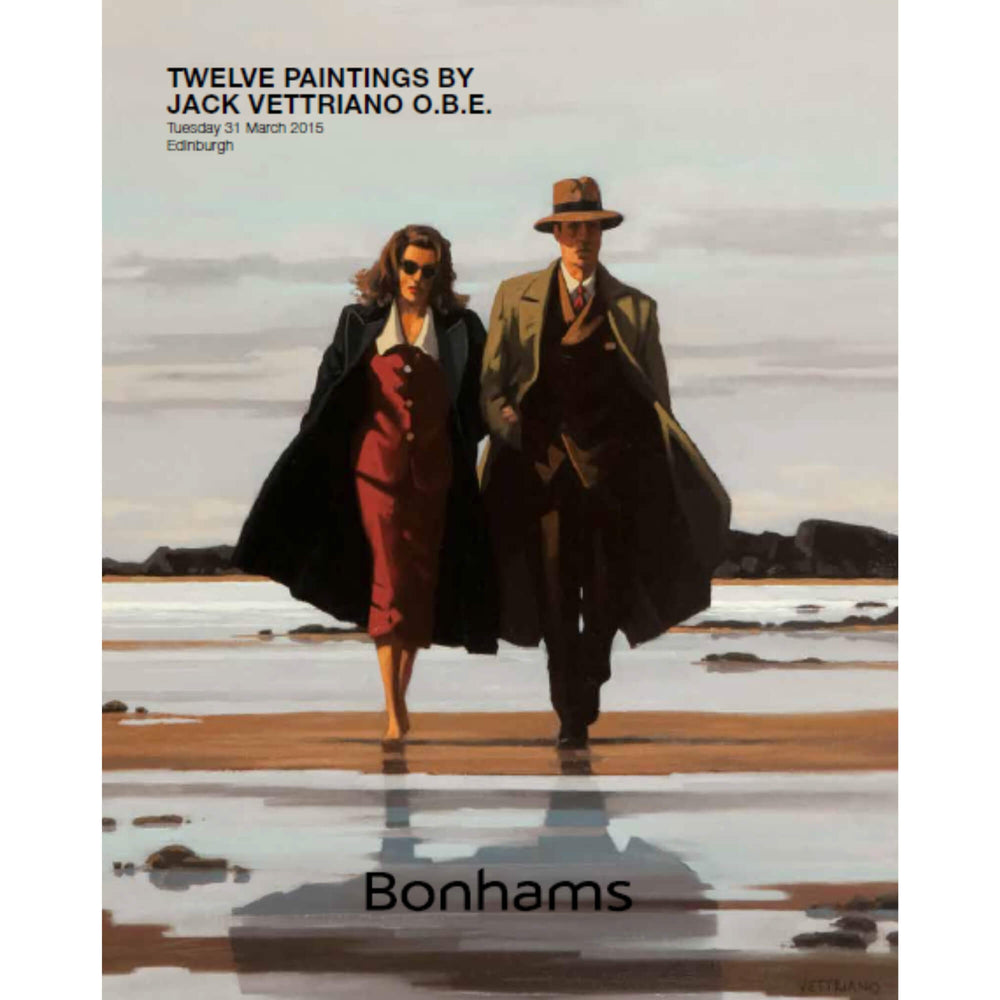 Twelve Paintings by Jack Vettriano Catalogue