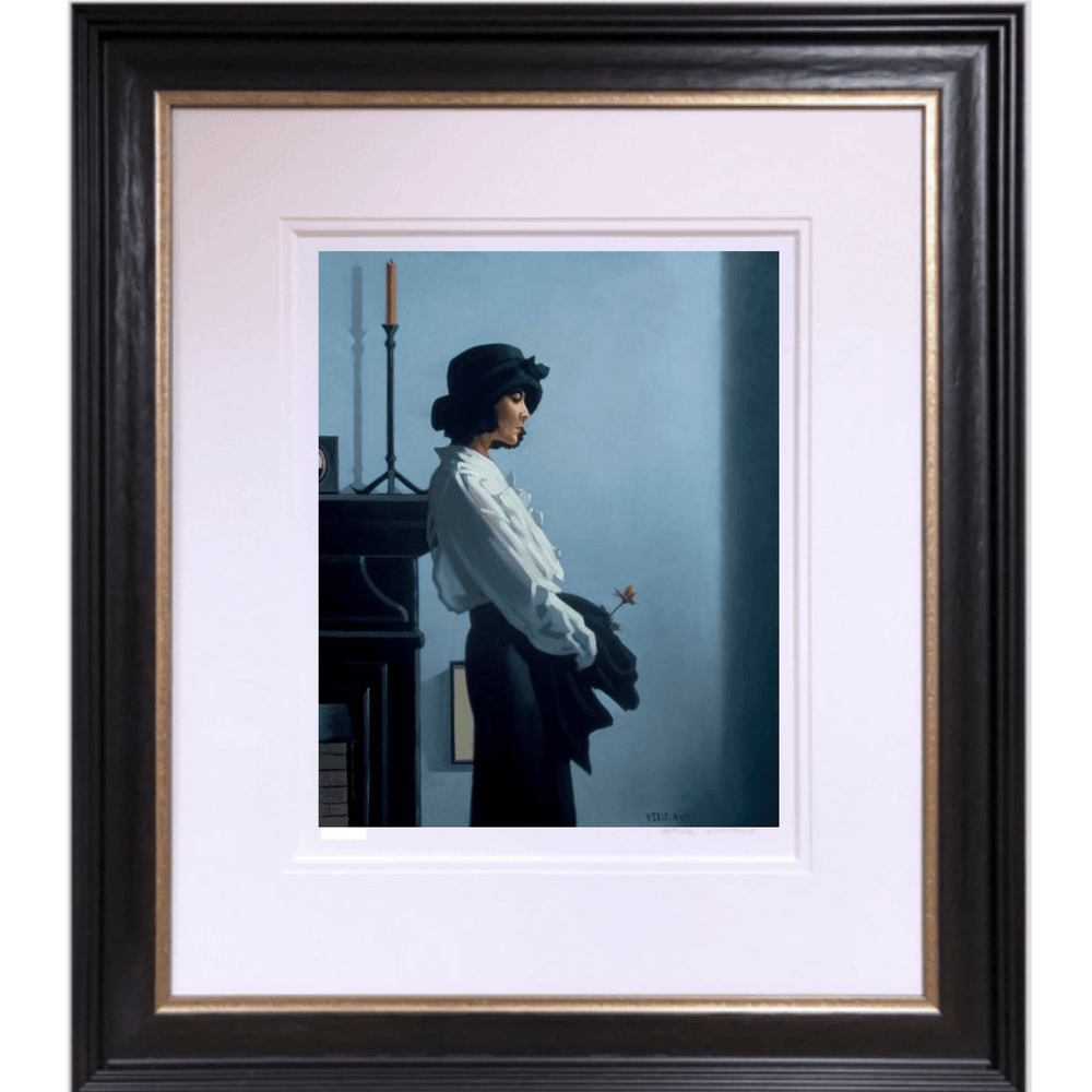 Valentine Rose Limited Edition Print Jack Vettriano Framed