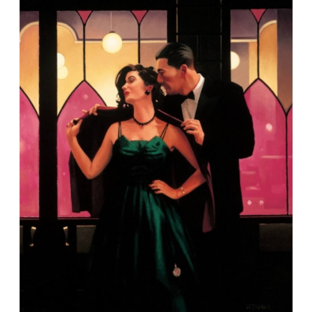 Words of Wisdom  Limited Edition Print Jack Vettriano