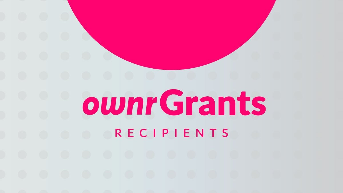Ownr Grants Recipients Banner