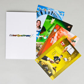 CS 001 Attribute Cards-Set of 4 with folder