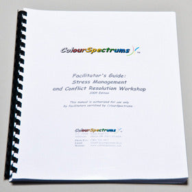 CS 011 Facilitator's Guide: Stress Management & Conflict Resolution