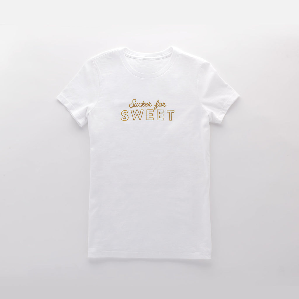 """SUCKER FOR SWEET"" ADULT TEE"