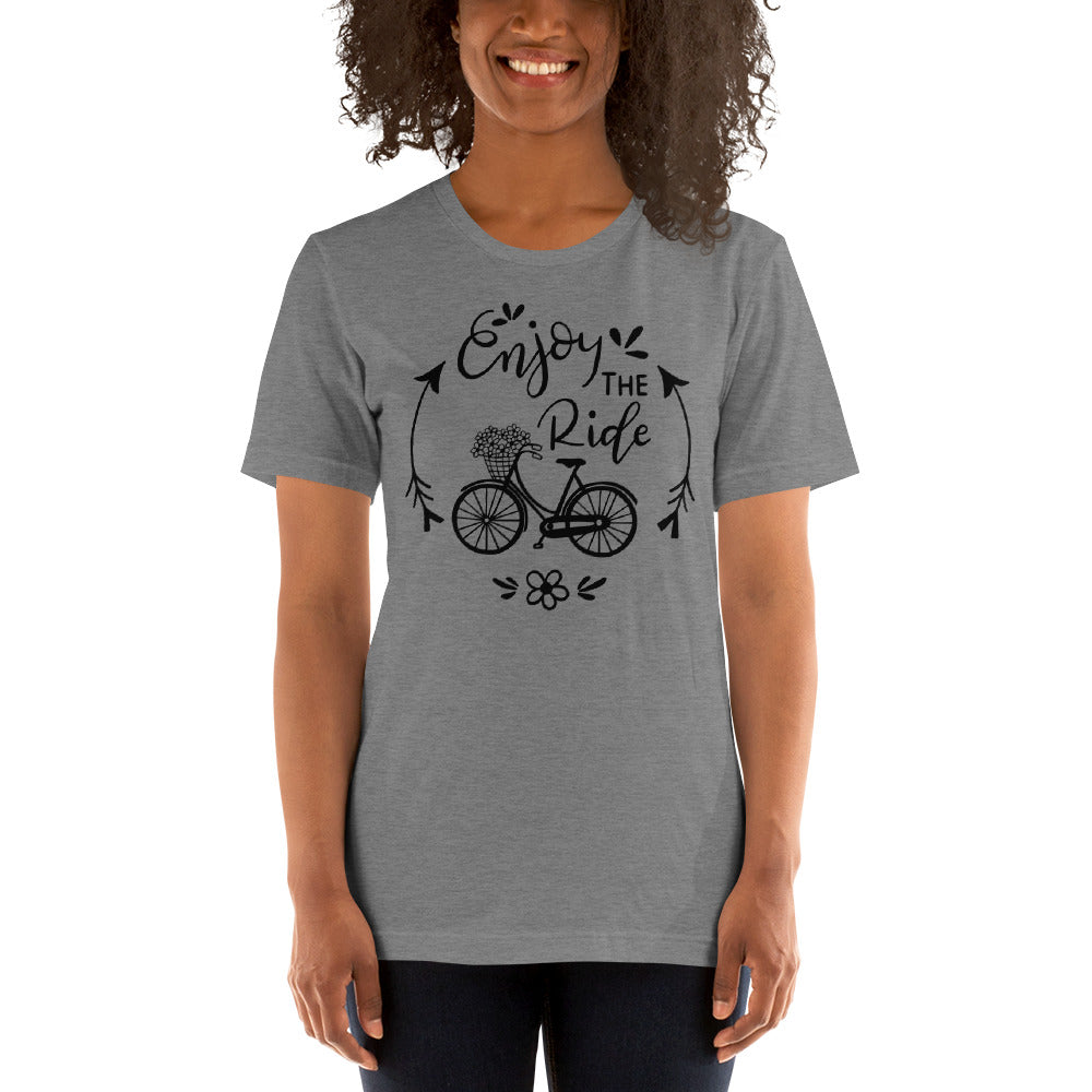 Enjoy the ride Short-Sleeve Unisex T-Shirt
