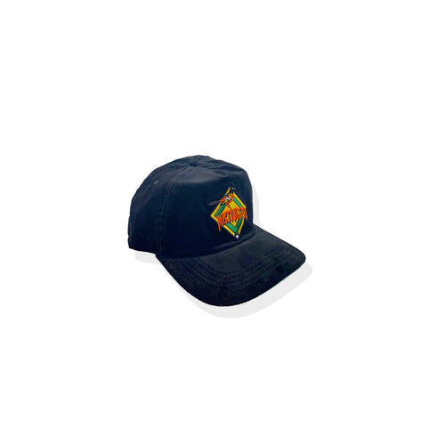 Mxtivated O'z Corduroy Snap Back Baseball Cap - Black