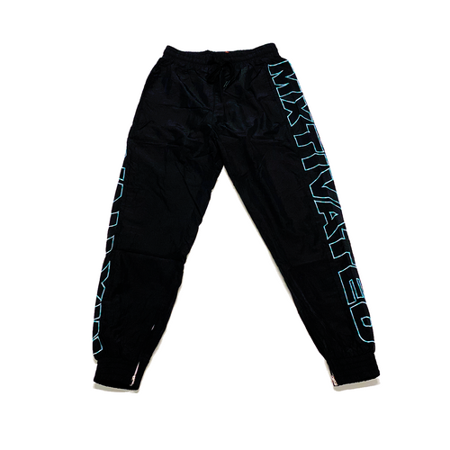 Mxtivated Nylon Trackpants - Gradient Blue