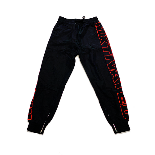 Mxtivated Nylon Trackpants - Bulls Red