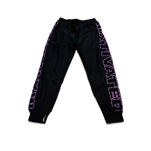 Mxtivated Nylon Trackpants - Gradient Raven Purple