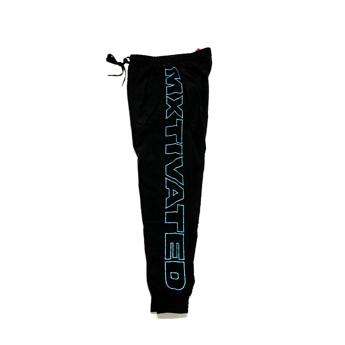 Mxtivated Nylon Trackpants (Electric Blue Gradient)