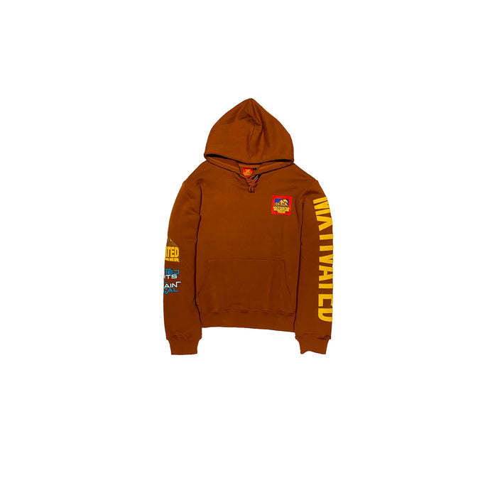 Mxtivated Mountain Tech Fleece Pullover Hoodie - Sweet potato