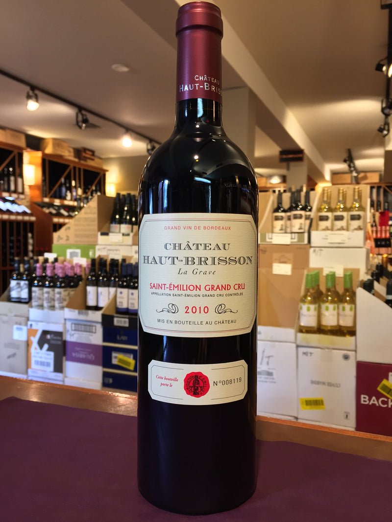 Chateau Haut-Brisson Saint-Emilion Grand Cru