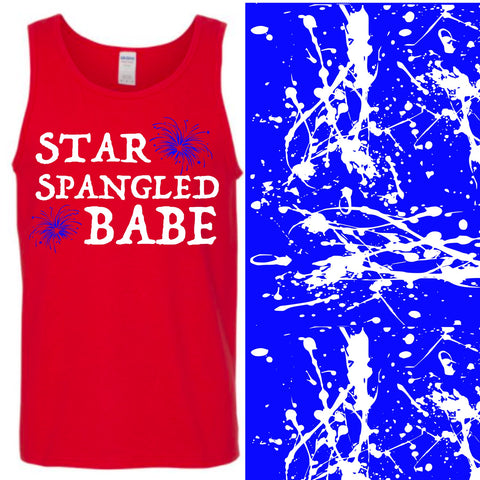 Tank- Star Spangled Babe