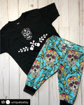 Sugar Skull Slim Harems, Leggings | origin'L threAdz