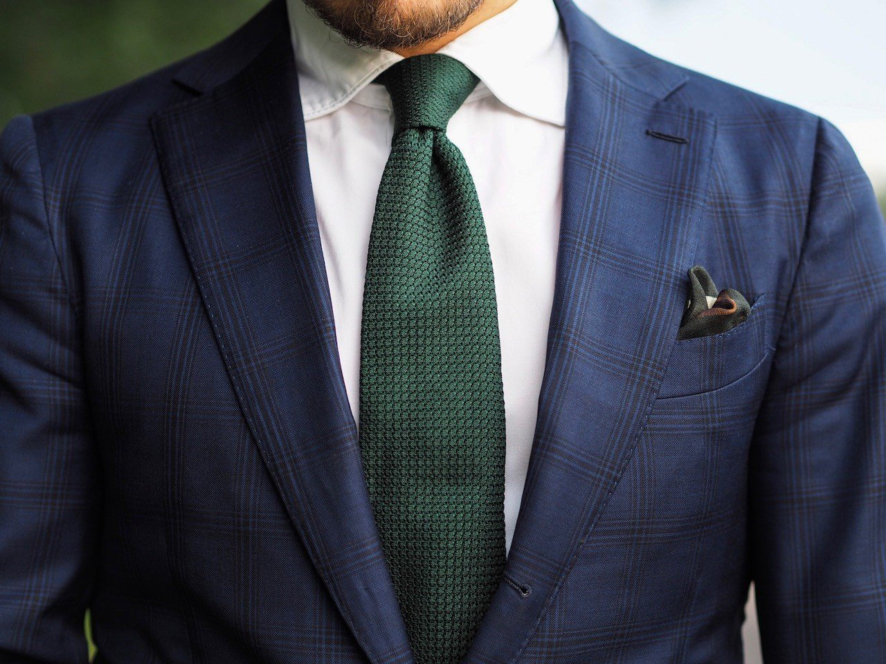 Outfit of the week - Bottle green for the fall