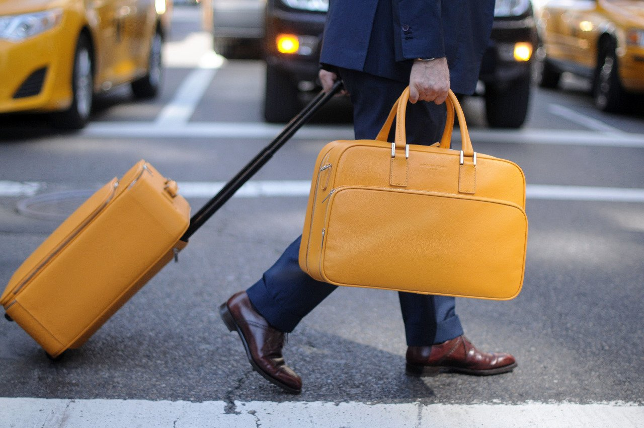 Briefcase for business