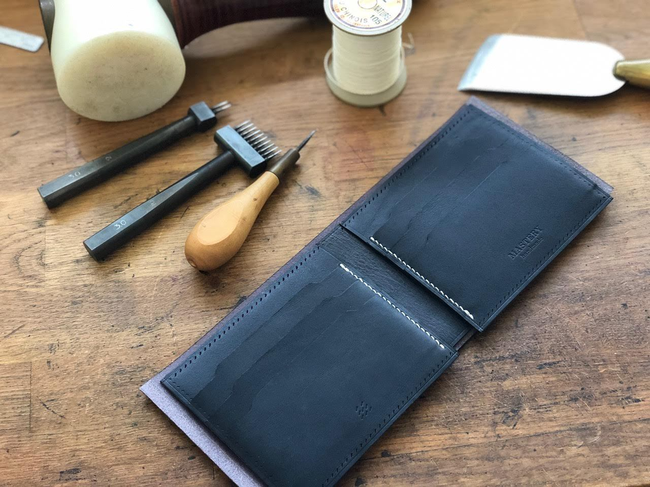 Classic wallets and craftsmanship - Mastery co in review