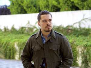 Drake's D43 jacket - linen layer for summer and fall