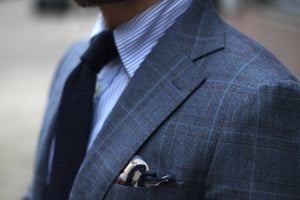 Checked suit - easy to dress up and down