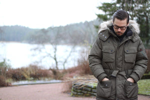 Down parka jacket - Ralph Lauren RLX