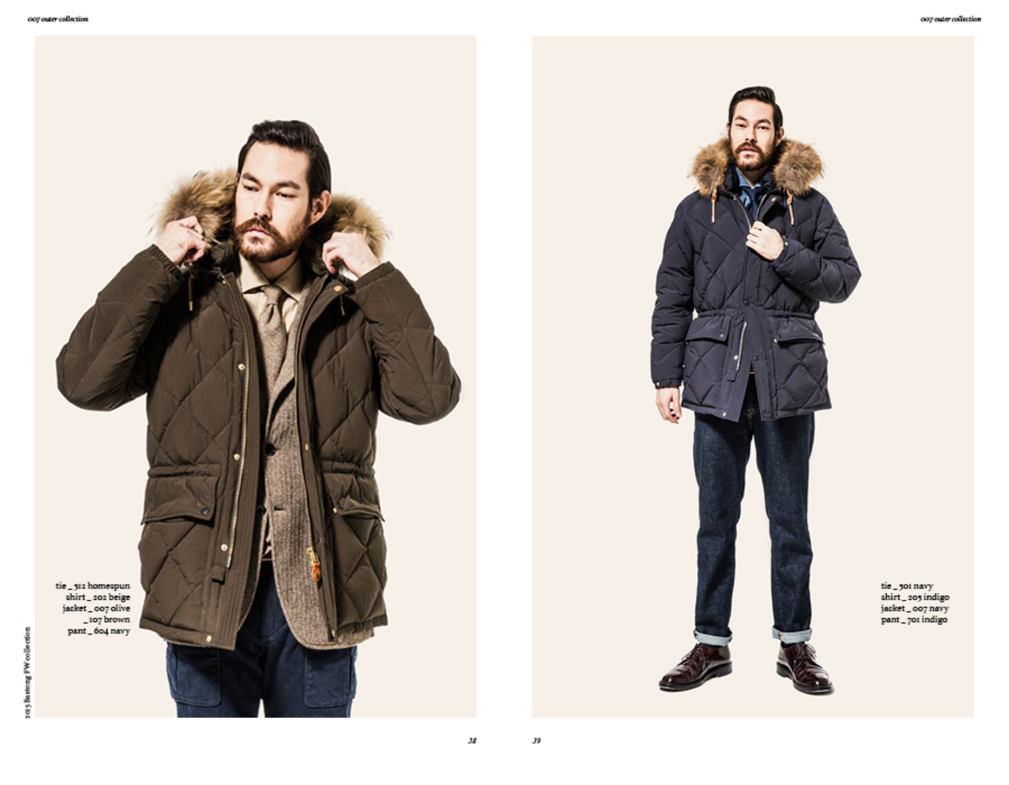 Bastong fw15 lookbook - down parka jacket for winter