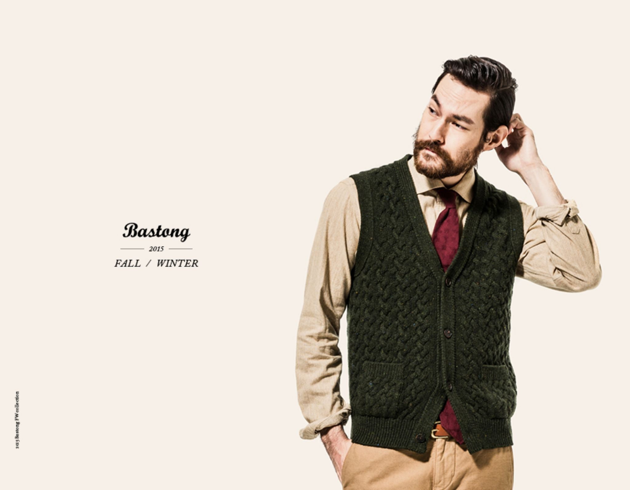 Bastong fw15 lookbook - knitted vest