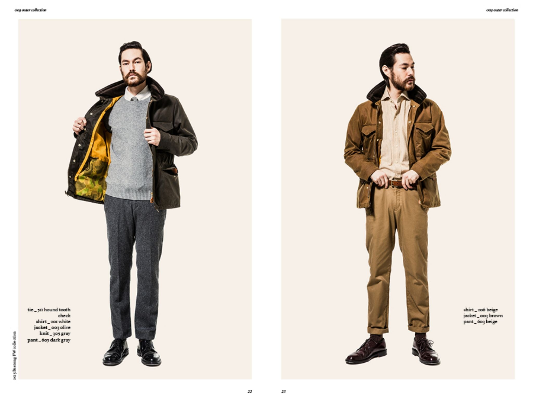 Bastong fw15 lookbook - versatile waxed cotton jacket