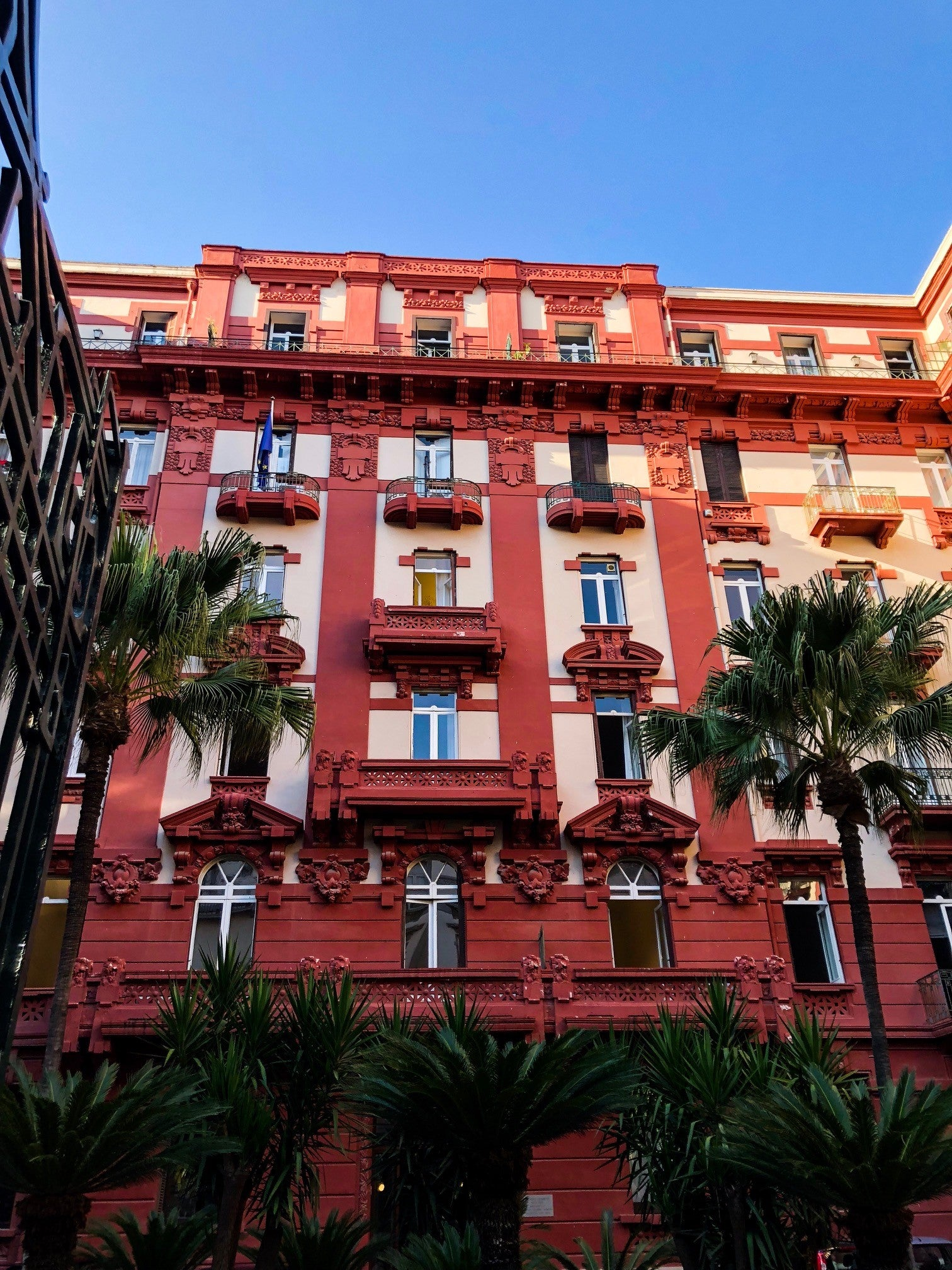 Beautiful buildings of Naples