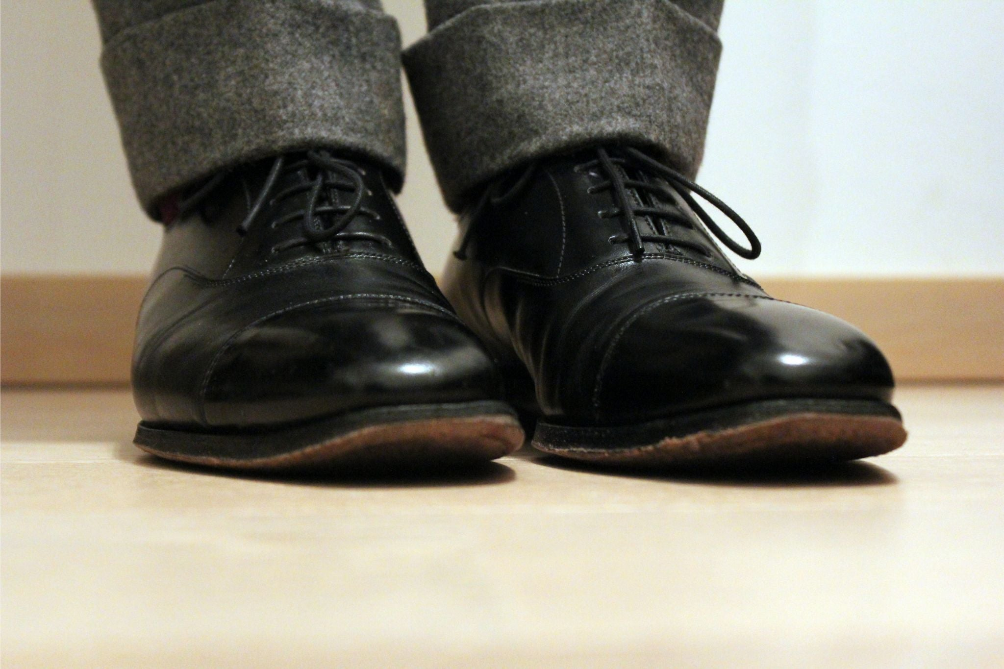 Black oxford shoes - Alfred Sargent