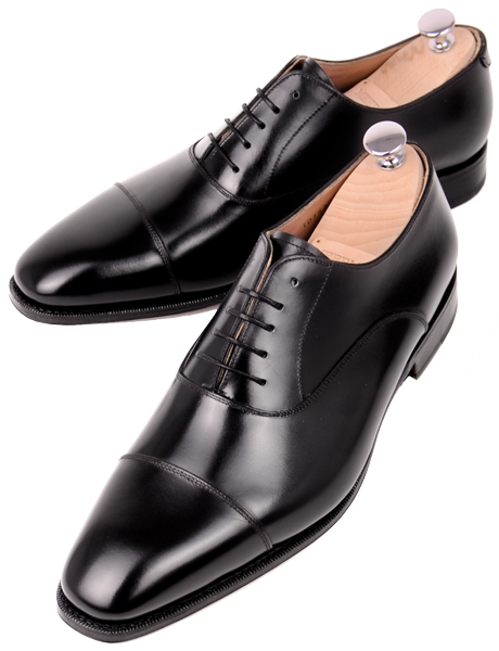 Black cap toe oxfords - Meermin Elton last