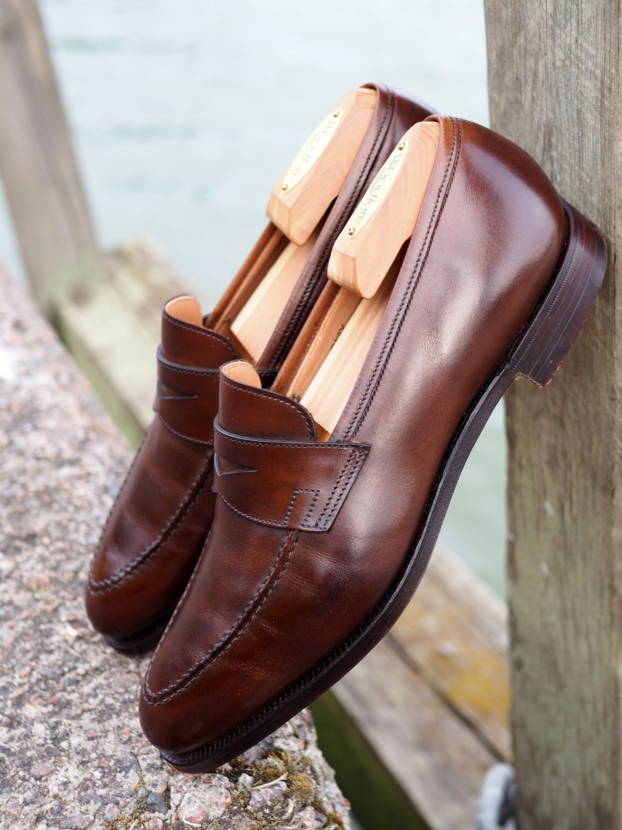 The iconic Crockett&Jones Sydney Penny loafer