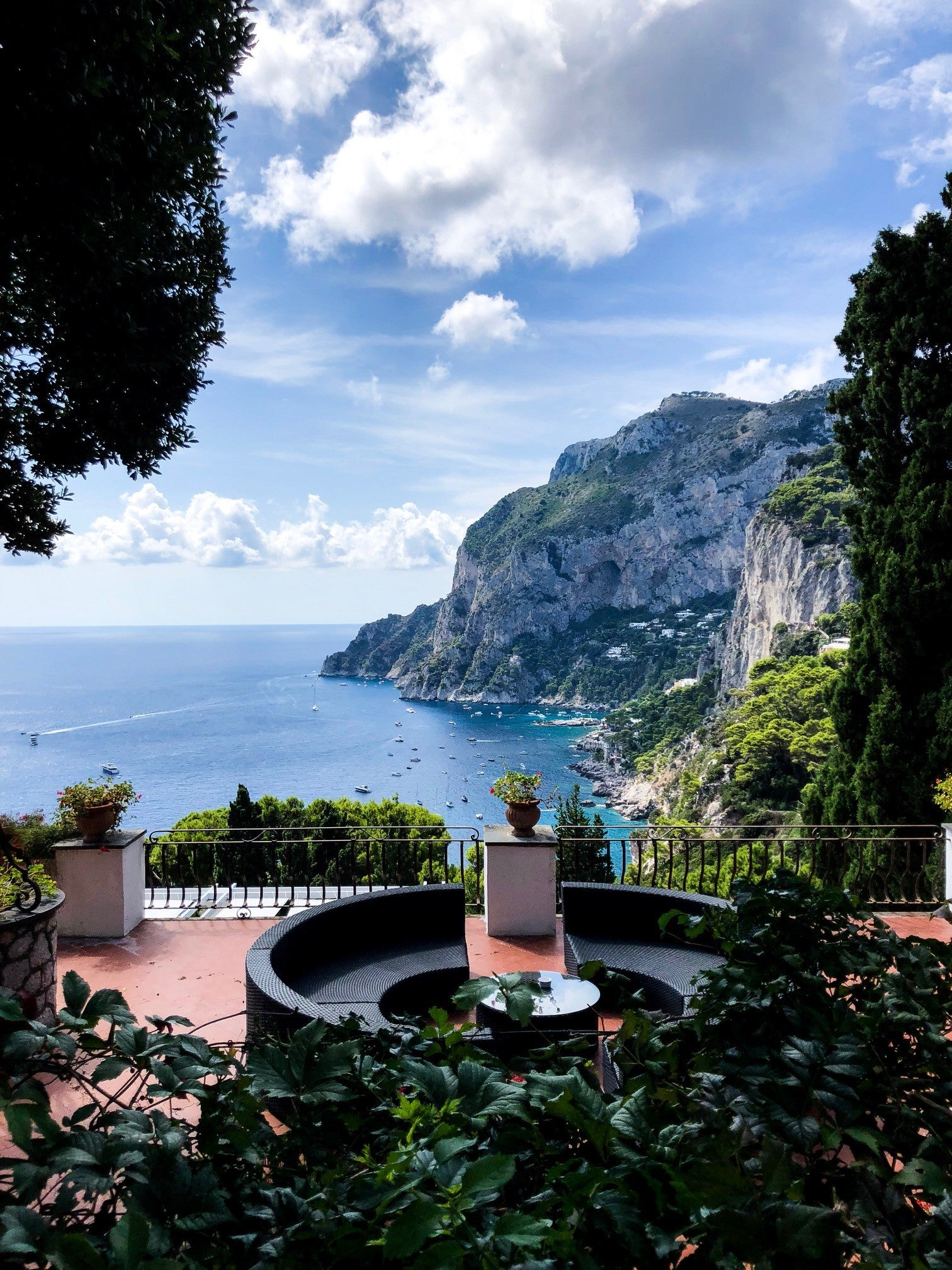 Capri Island views