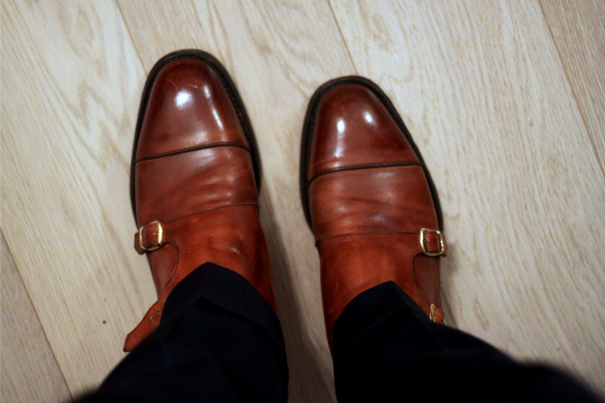 Cheaney double monks